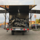 Progettazione box carrello portamoto