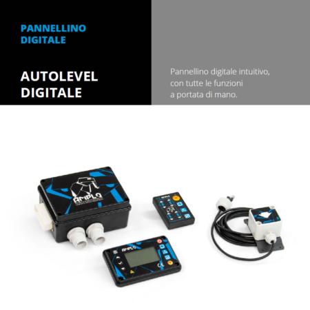 Vendita e installazione Pannellino digitale autolevel digitale