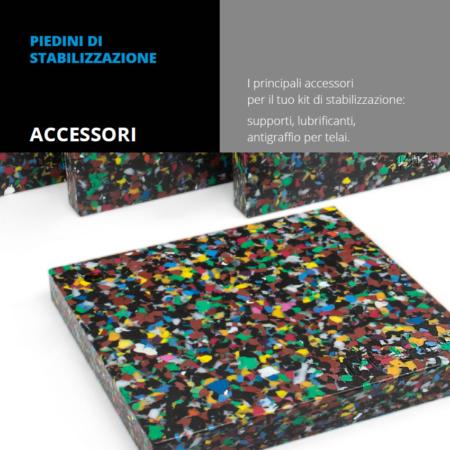Vendita e installazione Piedini di stabilizzazione accessori