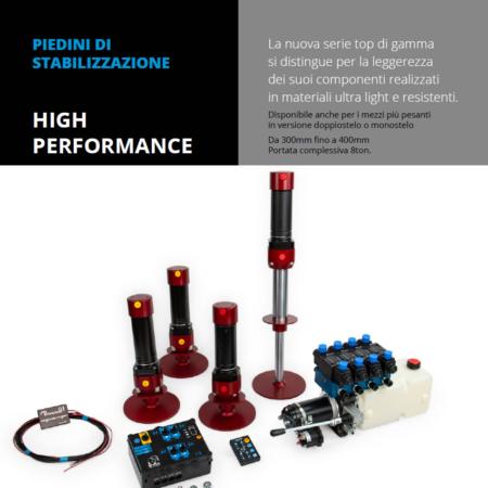 Vendita e installazione Piedini di stabilizzazione high performance