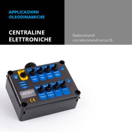 Vendita e installazione applicazione oleodinamica centralina elettronica amplo